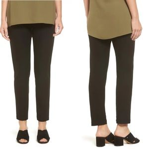 Eileen Fisher Stretch Crepe Slim Ankle Pant Size S